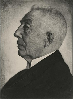 Great Depression in the Netherlands - Hendrik Colijn, Prime Minister during much of the Great Depression.