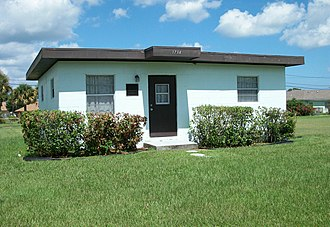 Fort Pierce, Florida - Zora Neale Hurston's house