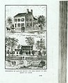 """""""Residence of Captain Grant and Mrs. Grant in and About St. Louis."""" (Ulysses Grant residence at Seventh and Lynch Streets and Julia Grant residence at Whitehaven).jpg"""