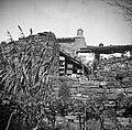 """""""Valenci"""" pod streho iz paluda, Kolomban 1949.jpg"""