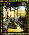 'Landscape with a Greek Temple' by Louis Comfort Tiffany, c. 1900, Cleveland Museum of Art.JPG
