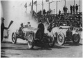 (Automobile race with grand stands in back ground at the U. S. Naval Training Stations, San Diego, California.) - NARA - 295569.tif