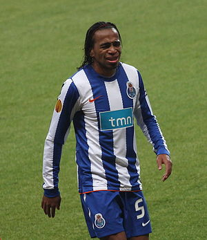 Álvaro Pereira - Pereira in action for Porto in 2010