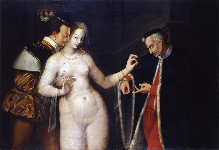 École de Fontainebleau - La Femme entre les deux âges