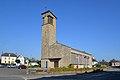 Église Saint-Côme et Saint-Damien de Roncey. Vue sud-ouest.jpg