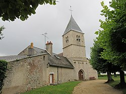Église Saint-Germain 02, Santeau, Loiret, France.jpg