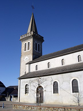 Église Saint-Laurent de Luquet.JPG