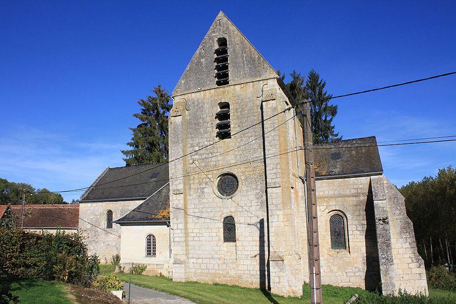 Église Saint-Rufin-et-Sainte-Valère de Loupeigne