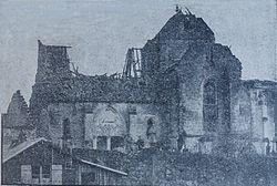 Église de saint-Mard après la Première Guerre mondiale.jpg