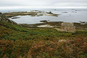 Jentilez - Image: Île plate 1