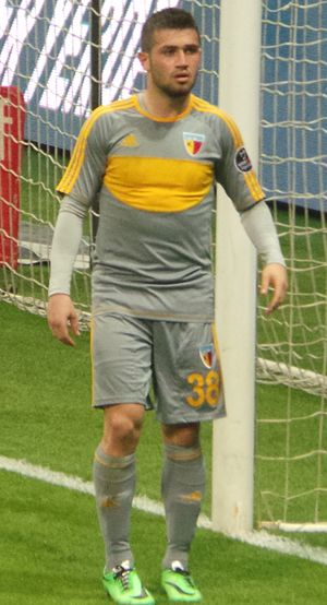 Ömer Bayram - Bayram playing for Kayserispor in 2014