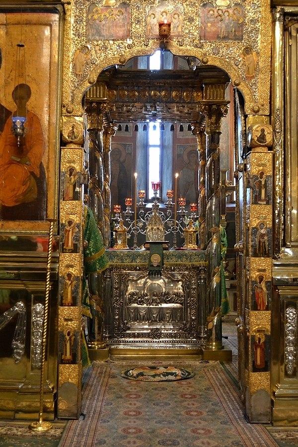 Алтерь Троицкого собора