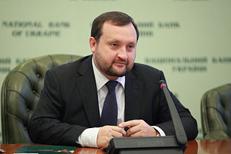 Serhiy Arbuzov - Serhiy Arbuzov № 30 in ranking for the most influential Ukrainian magazine Korrespondent  2012 .