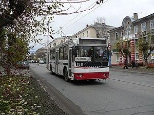 Berezniki - Trolza trolleybus in Berezniki