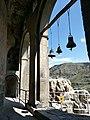Ва́рдзиа — пещерный монастырский комплекс XII—XIII веков на юге Грузии, в Джавахетии 04.jpg