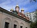 Никола на Берсеневке на фоне Дома на Набережной.JPG
