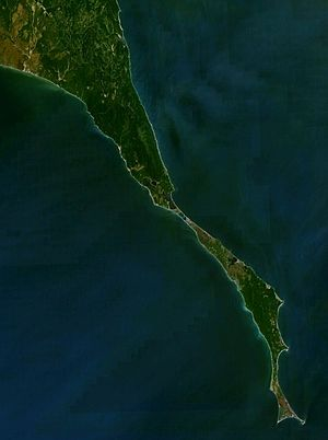 Cape Patience - View of Cape Patience from space.