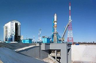 Vostochny Cosmodrome - Image: Стартовый комплекс космодрома Восточный перед первым пуском