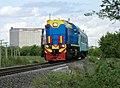 ТЭМ18-366, Казахстан, Западно-Казахстанская область, перегон Жилаево - Уральск (Trainpix 162935).jpg