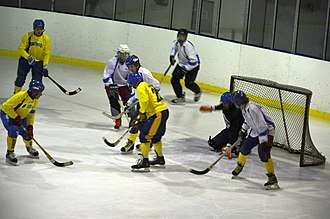 Rink bandy - Rink bandy in Dnipro