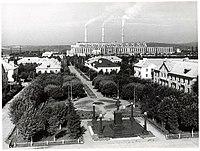 Центральная часть г. Калтан в 1960-х годах.jpg