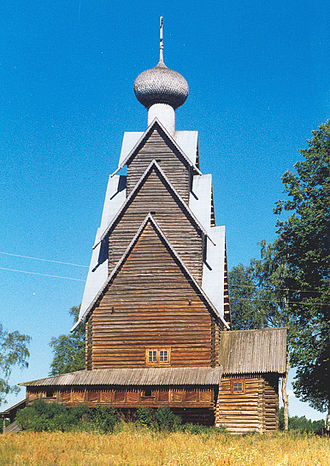 Penovsky District - The Church of the Nativity of Saint John the Baptist at Shirkov Pogost.