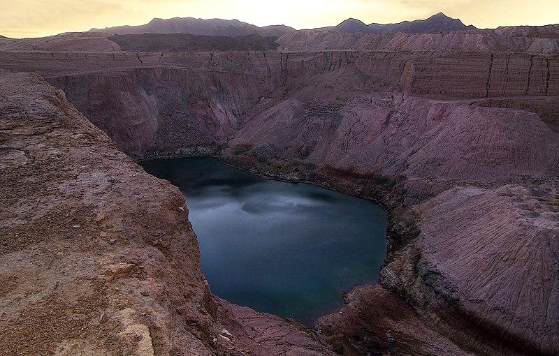 המקומות רומנטיים בישראל - האגם הנעלם, תמנע