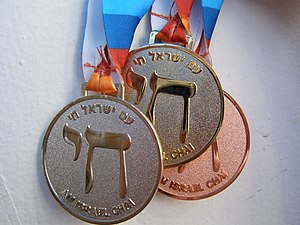 2009 Maccabiah Games - Medals in the 18th Maccabiah, front
