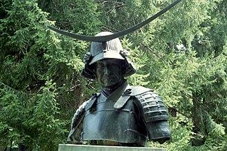 Date Masamune - Statue of Date Masamune