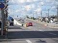 北海道道347号赤川函館線・五稜郭跨線橋(起点側).jpg