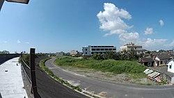 廢棄的建築,已成附近居民鴨子的住所.jpg