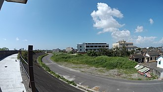 Dacheng, Changhua - Image: 廢棄的建築,已成附近居民鴨子的住所