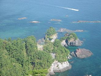 Dōgojima - Coastline of Dōgo Island