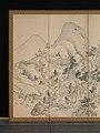 蘭亭曲水図屏風. 秋社図屏風-Orchid Pavilion Gathering; Autumn Landscape MET DP362632.jpg