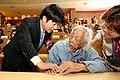 賴市長與「台灣革命之父」史明握手致意.jpg