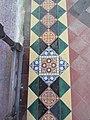 -2018-12-10 Mosaic floor, Saint Margaret of Antioch parish church, Suffield, Norfolk (2).JPG
