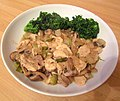 -2019-03-06 Creamy mustard chicken with broccoli.JPG