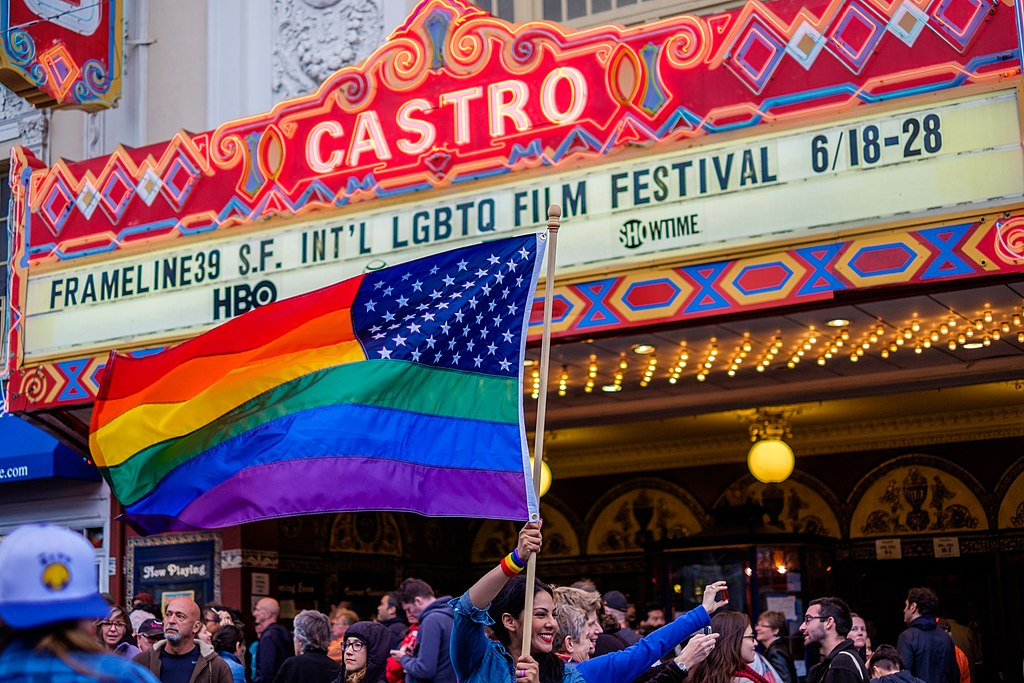 Célébration gay dans le quartier de Castro à San Francisco. Photo de bhautik joshi