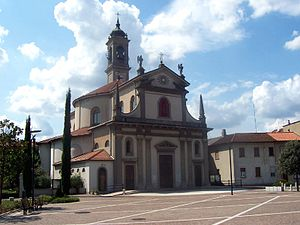 Carlo Giuseppe Merlo - San Giuliana Parish Church in Caponago