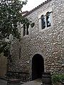 02 Capella de Sant Pelegrí, pl. Jaume I (Vilafranca del Penedès), façana posterior.jpg