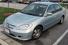 Charming 2004u20132005 Honda Civic Hybrid (US)