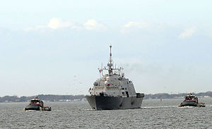 USS Freedom (LCS-1) в мае 2009 года