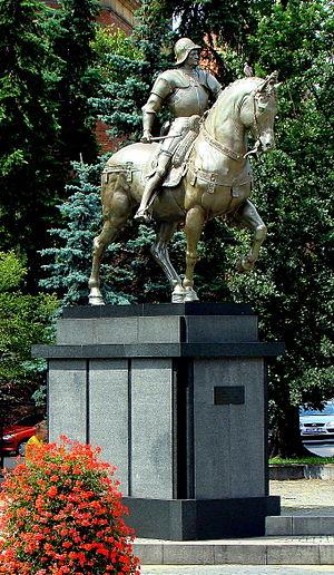 Bartolomeo Colleoni - Bartolomeo Colleoni Monument at Lotników Square, Szczecin, Poland