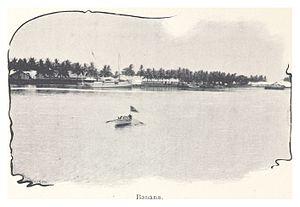 Banana, Democratic Republic of the Congo - Landing in Banana, Congo (1899)