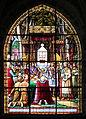 0 Louis le Chauve et les reliques du Saint-Suaire - Vitrail de l'église Saint-Jacques.JPG