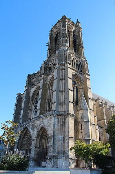 Cathédrale Saint-Gervais et Protais - Soissons (Aisne, France).