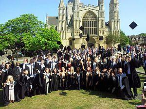University of Kent – School of Sport & Exercise Sciences - Graduatuion