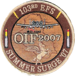 103d Expeditionary Fighter Squadron - Emblem.png