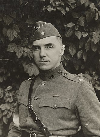 Joseph Stilwell - Lt. Col. Stillwell as Assistant Chief of Staff, 4th Army Corps, October 1918 in France.