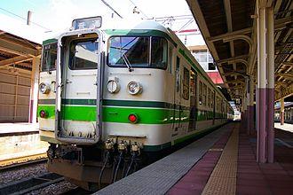 Jōetsu Line - Image: 115 niigata